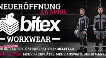 Neueröffnung Bitex Workwear